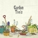 Hand Drawn Gardening Tools Album Cover - GraphicRiver Item for Sale