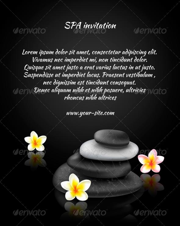 GraphicRiver Spa Invitation Card 7027108