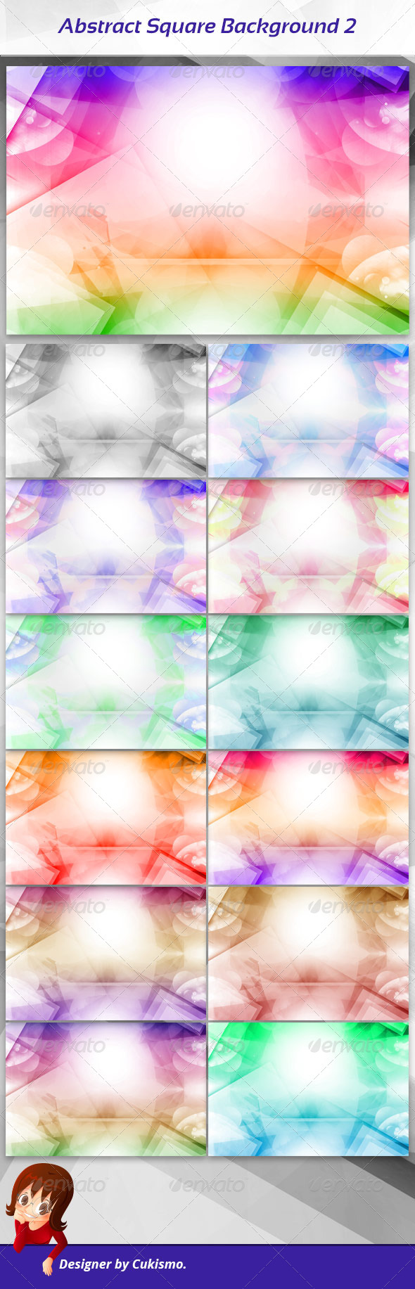 GraphicRiver Abstract Square Background 2 7027290