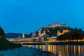 Twilight view of Salzburg old town, Austria - PhotoDune Item for Sale