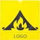 Campfire Logo - GraphicRiver Item for Sale