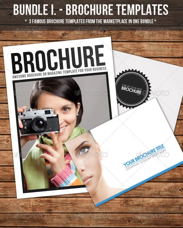 Bundle I. - Brochure Template - Corporate Brochures