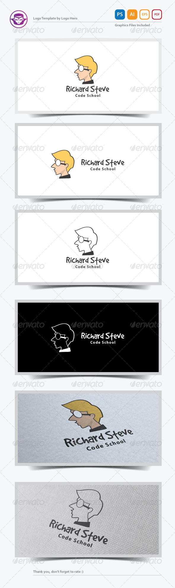 GraphicRiver Personal Brand Logo Template 7029260