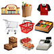 Grocery Icons - GraphicRiver Item for Sale