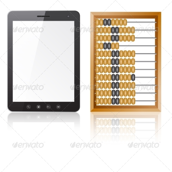 GraphicRiver Tablet and Abacus 7030450