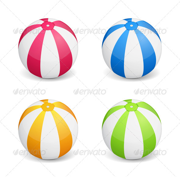 GraphicRiver Beach Ball 7030477