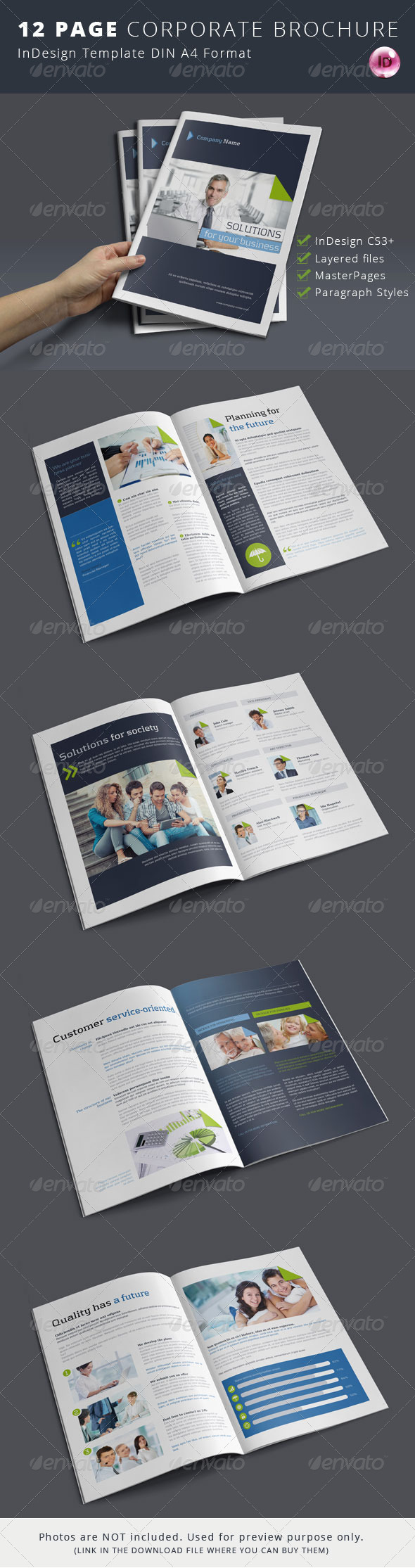 GraphicRiver Corporate Business Brochure 7031715