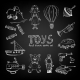 Chalkboard Cartoon Toys - GraphicRiver Item for Sale