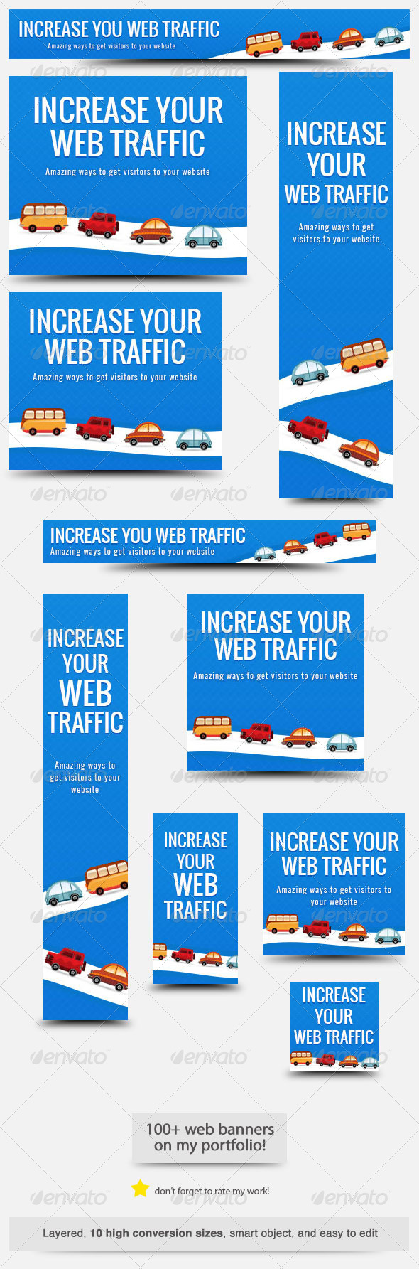 GraphicRiver Web Traffic Web Banner 7031957