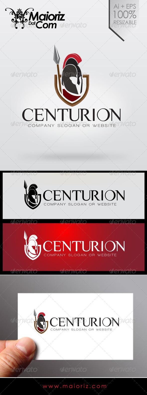 GraphicRiver Centurion Company Logo 7032384
