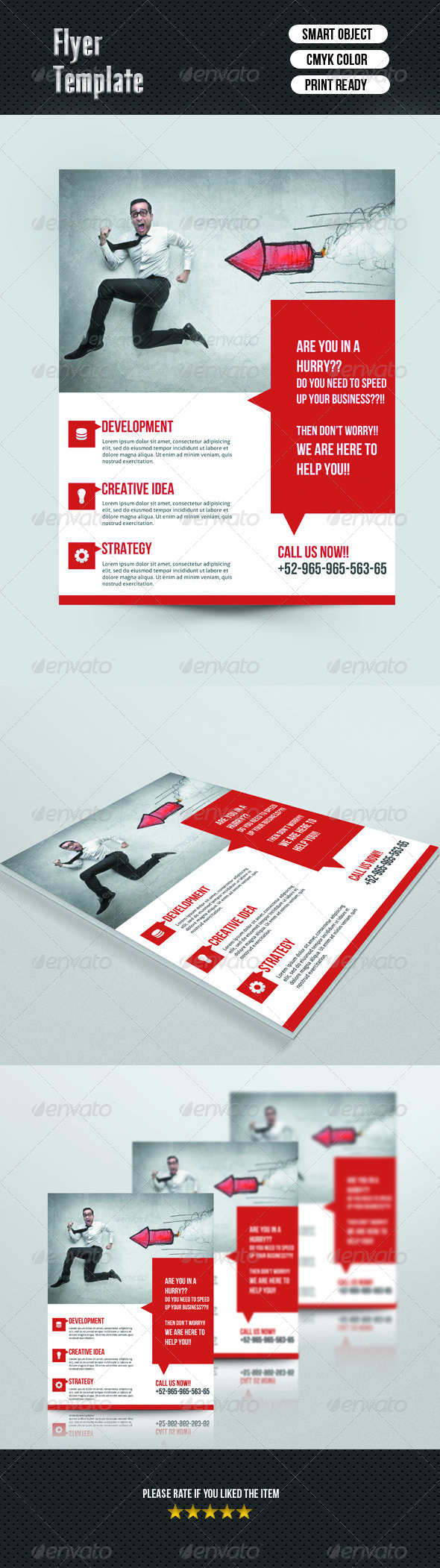 GraphicRiver Corporate Flyer Template 7032739