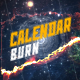Calendar Burn  - VideoHive Item for Sale