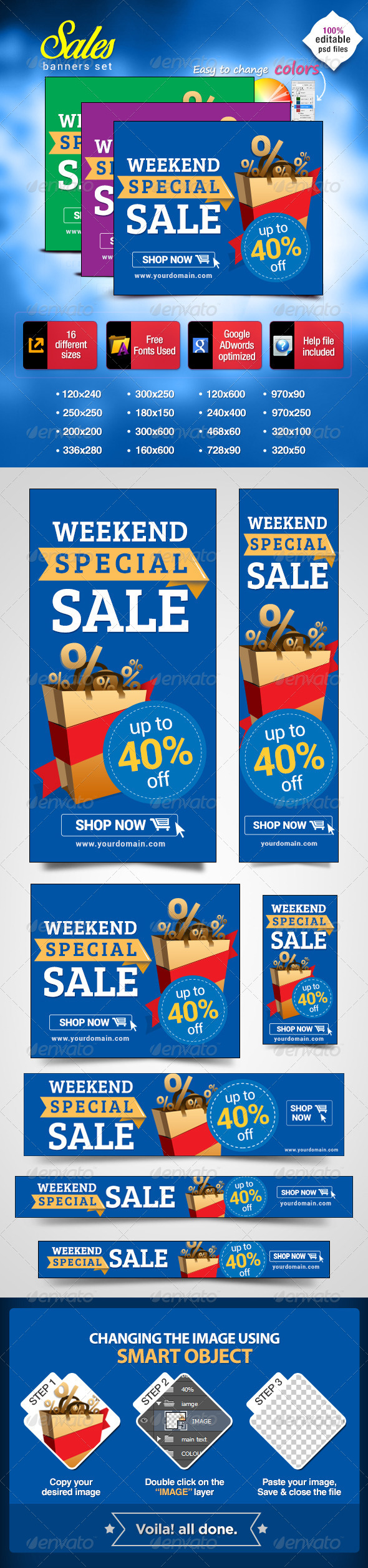 GraphicRiver Banners for Special Sales 7033885