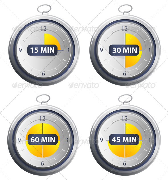 GraphicRiver Timer Icons 7034037