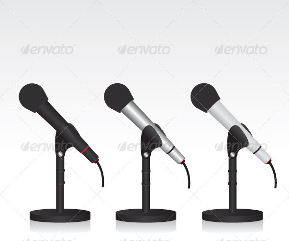 GraphicRiver Microphone 7034094