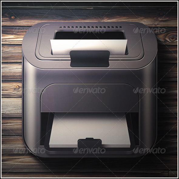 GraphicRiver Printer Icon 7034748
