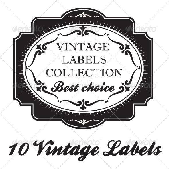 GraphicRiver Vintage Labels 7034800
