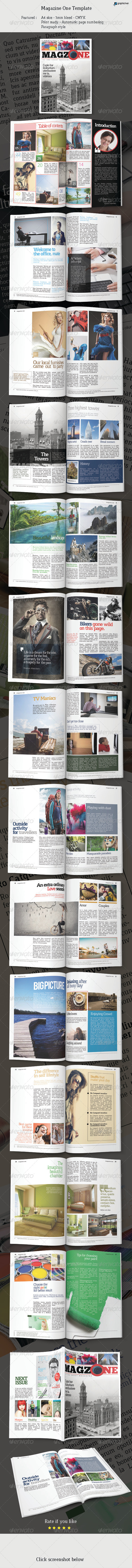 GraphicRiver Magazine One Template 7035061
