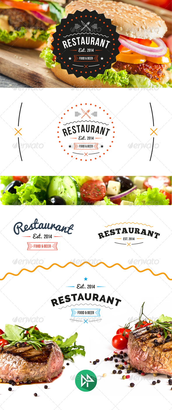 GraphicRiver Restaurant Logo Template 6977535