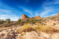 Rocks overlook Tortilla Flat Arizona - PhotoDune Item for Sale
