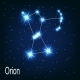 The Constellation Orion - GraphicRiver Item for Sale