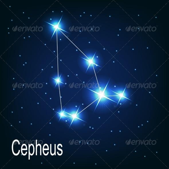 GraphicRiver The Constellation Cepheus 7035916