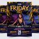 Friday Fire Party Flyer / Poster - 16 - GraphicRiver Item for Sale