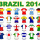 world cup flag strip designs 2014 - PhotoDune Item for Sale