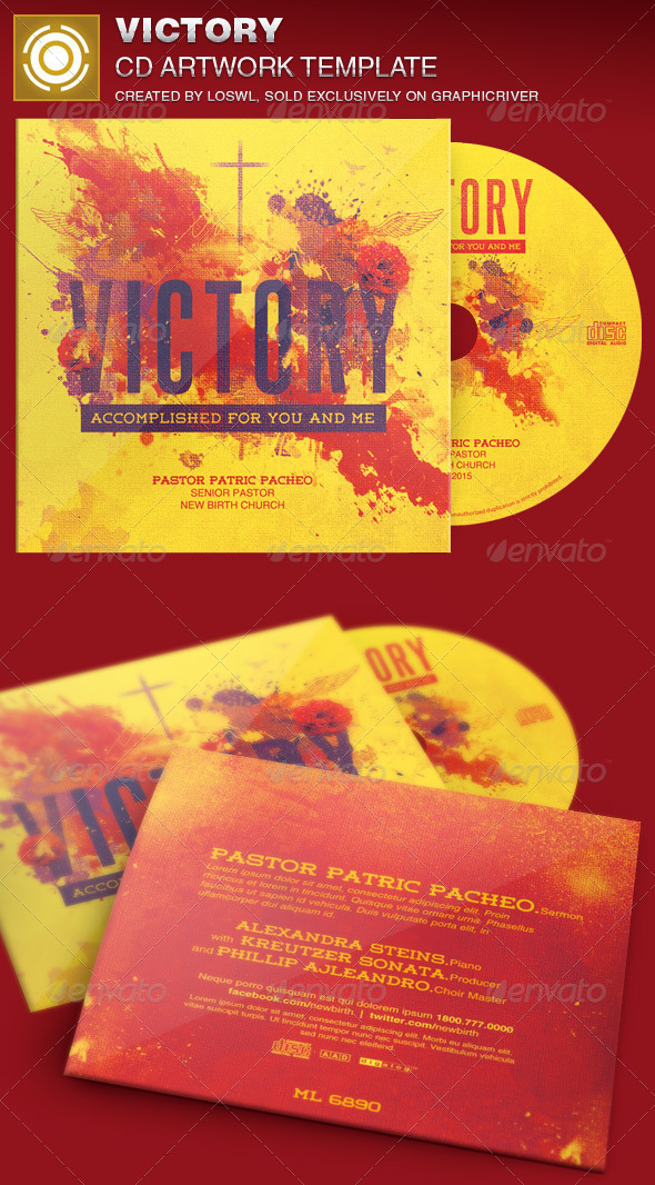 GraphicRiver Victory CD Artwork Template 7036586