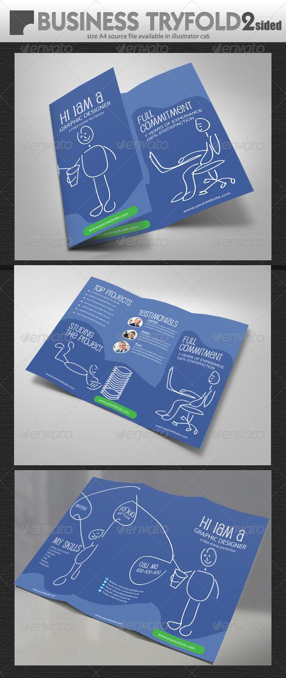 GraphicRiver Graphic Designer Brochure 7037539