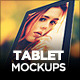 10 Beautiful Tablet Mockups - GraphicRiver Item for Sale