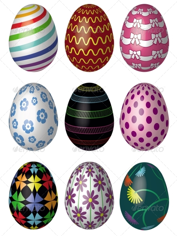 GraphicRiver Easter Eggs 7038574