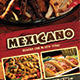 Trifold Mexican Menu - GraphicRiver Item for Sale