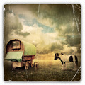 Gypsy Wagon, Caravan - PhotoDune Item for Sale
