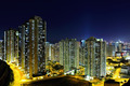 Hong Kong cityscape at night - PhotoDune Item for Sale