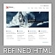 Refined  Portfolio / Business xHTML Template - ThemeForest Item for Sale