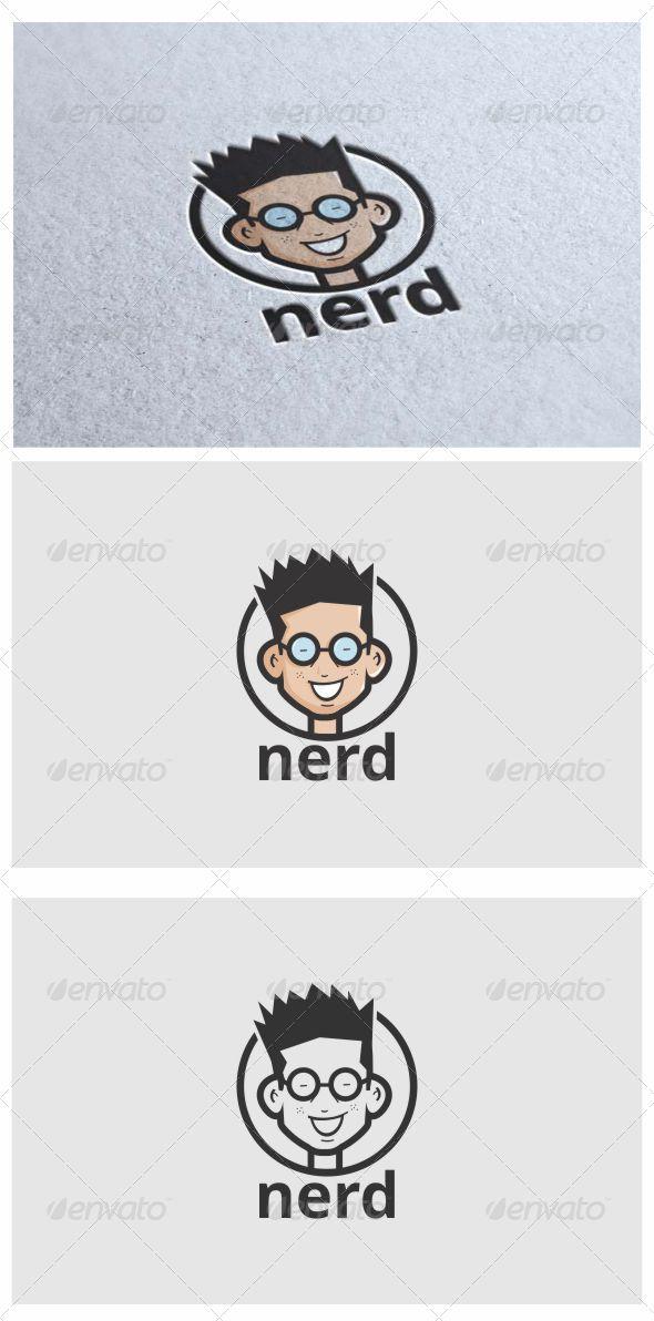 GraphicRiver Nerd Logo 7040702