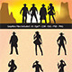 Cowboy Silhouettes - GraphicRiver Item for Sale