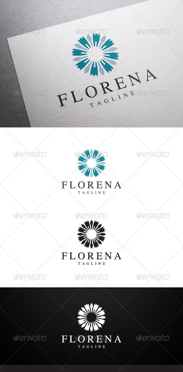 GraphicRiver Florena Logo 7041476