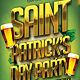 Saint Patricks Day Typo Party Flyer - GraphicRiver Item for Sale