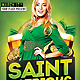 Saint Patricks Day Party Flyer - GraphicRiver Item for Sale