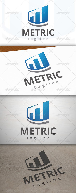 GraphicRiver Metrics Logo 7045599