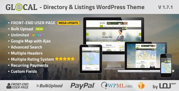 GLOCAL - Directory & Listings Wordpress Theme - Miscellaneous WordPress