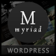 Myriad - Powerful Professional WordPress Theme - ThemeForest Item for Sale