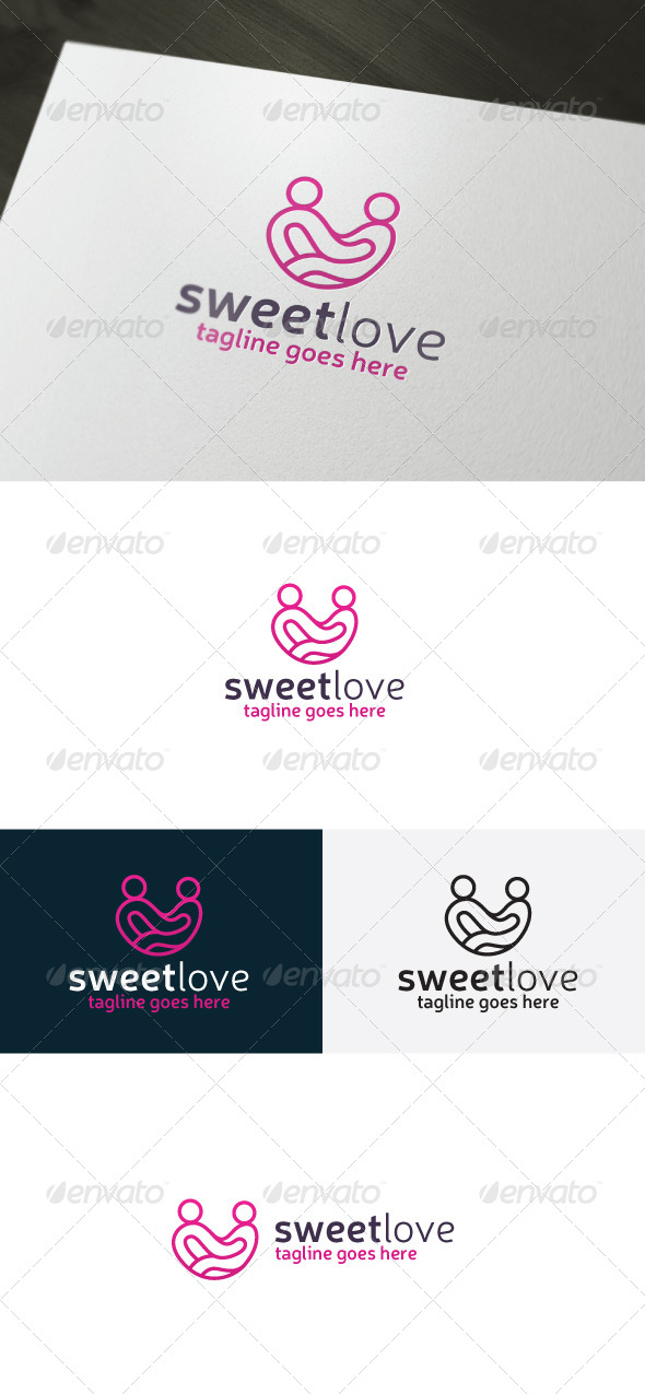 GraphicRiver Sweet Love Logo 7047002