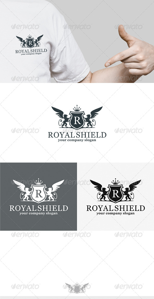 GraphicRiver Royal Shield Logo 7048257
