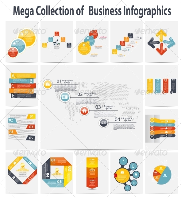 GraphicRiver Collection of Infographic Templates 7048269