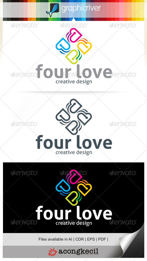 GraphicRiver Four Love V.2 7049159