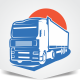 Cargo Truck Logo - GraphicRiver Item for Sale