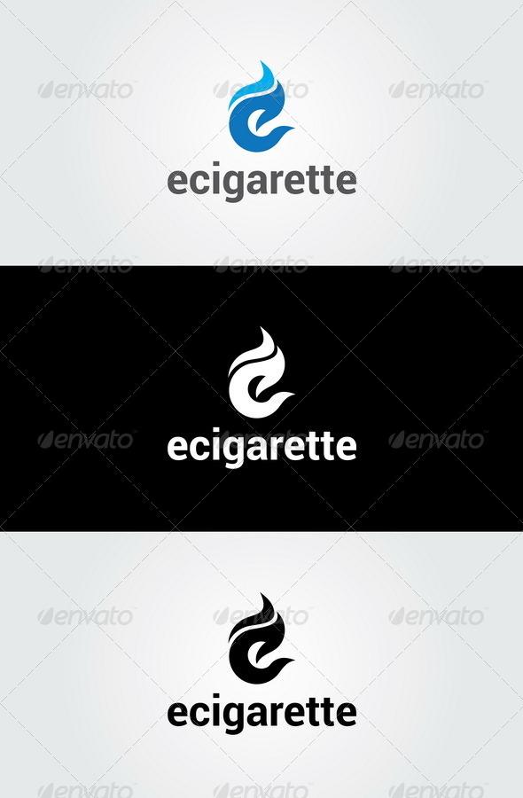 GraphicRiver Ecigarette Logo Template 7049349